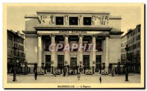 Marseille - The Opera - Old Postcard