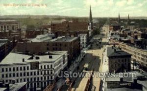Birds Eye View Utica NY 1908