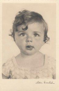 RP: Baby Head Portrait , 1920-30s