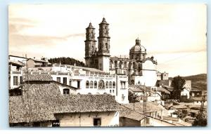 *Hotel Y Restaurant Melendez Cathedral Taxco Mexico Vintage Photo Postcard C82