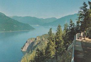 Highway 6 British Columbia Kootenay Country Slocan Lake Canada Postcard