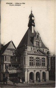 CPA PERONNE - L'Hotel de Ville Facade principale (121335)