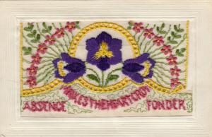 Embroidered Flowers , 00-10s; Absence Makes the Heart Grow Fonder, Insert