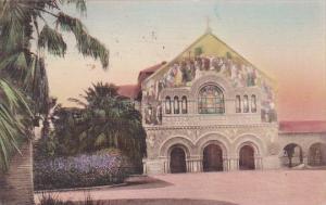 Memorial Church Stanford University Whittier California Handcolored Albertype...