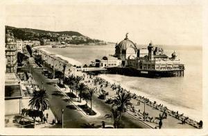 France - Nice. Paalais de la Jetee. Promenade des Anglais - RPPC