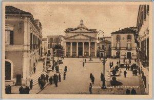 49764   CARTOLINA d'Epoca - FOGGIA citta' : Piazza XX SETTEMBRE 1946