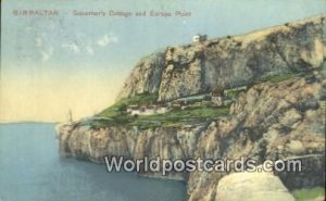 Governor's Cottage & Europa Point Gibralter 1912 Missing Stamp
