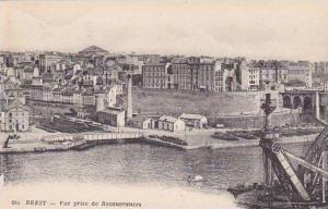 France Brest Vue prise de Recouvrances