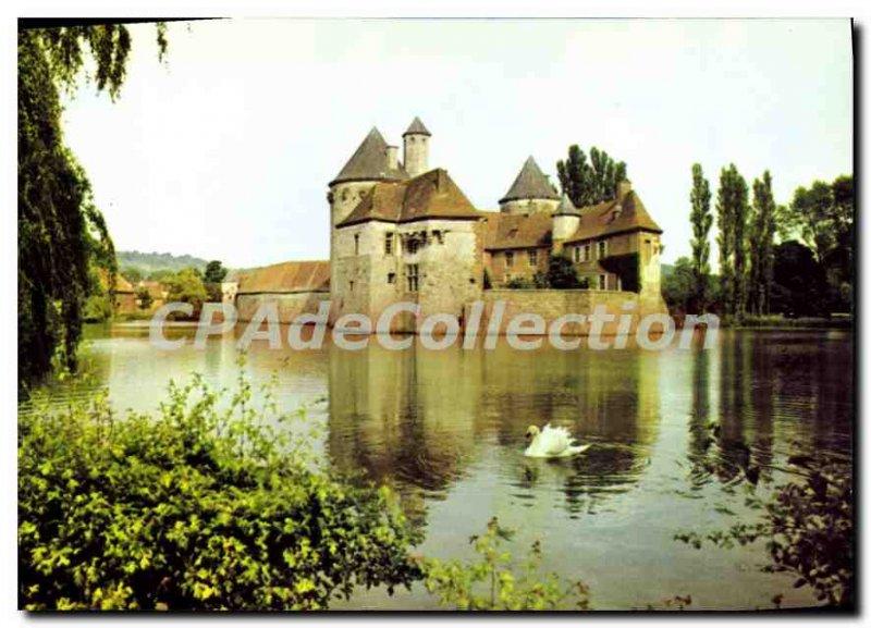 Modern Postcard Olhain Artois Calais XIII and XV century
