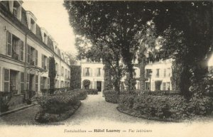 CPA FONTAINEBLEAU - Hotel Launcy - Vue interieure (171070)