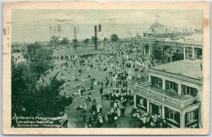 1921 Toronto Postcard Children's Playgrounds, Canadian National Exhibition