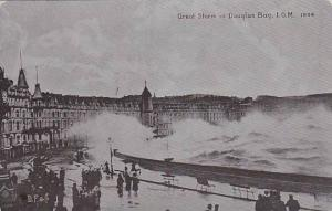 Great Storm In Douglas Bay, Isle Of Man, UK, 1900-1910s