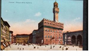 FIRENZE, Toscana, Italy, 1900-1910's; Piazza Della Signoria