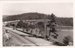 RP: Deception Pass Bridge , WASHINGTON , 30-40s ; ELLIS # 160