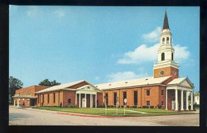Marshall, Texas Postcard, First Baptist Church, 1960's?