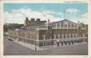 Exterior, Coliseum, Sioux Falls, South Dakota,   PU-1937