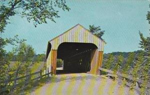 Covered Bridge Hartland Hartland Old Covered Wood Bridge Vermont