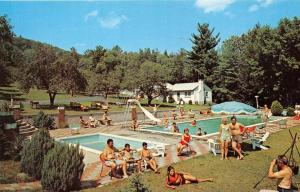 1336 NY Diamond Point    Tom-ro Motel and Cottages  Poolsid e