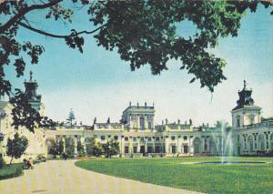 Poland Warsaw Palac w Wilanowie