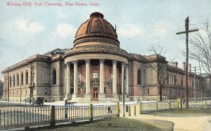 Woolsey Hall, Yale University, New Haven, Connecticut, Early Postcard, Unused