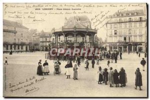 Old Postcard Lorient Place Alsace Lorraine