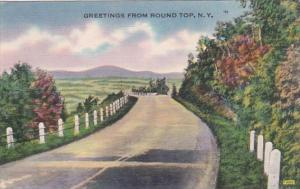 New York Greetings From Round Top 1950