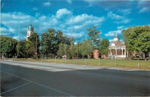 Chardon Ohio~Geauga Co Courthouse~Bandstand 1981