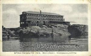 Straitsmouth Inn Rockport MA 1915
