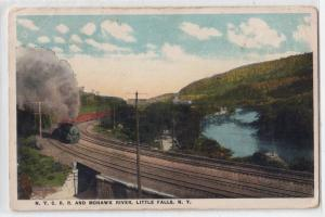 NYC RR & Mohawk River, Little Falls NY
