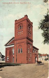 Key Port New Jersey~Calvary Methodist Episcopal Church~Man & Boy on Carriage~'10
