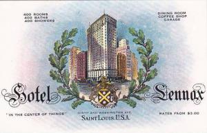 Missouri Saint Louis Hotel Sennox In The Center Of Things