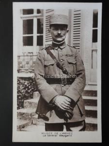 WW1 Le General Weygang MUSEE DE L'ARMEE French Military Commander RP Postcard
