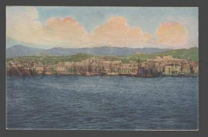 085190 ITALY Messina Panorama dal Mare Vintage tinted PC