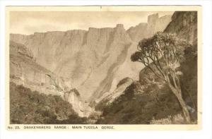 Drakensberg Range: Main Tugela Gorge, South Africa , 1910-30s