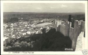 portugal, TOMAR, Vista Parcial (1950s) RPPC
