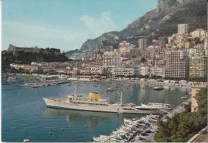 Principaute de Monaco, Vue sur le Port et la Condamine, unused Postcard