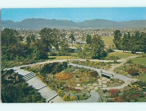 Unused Pre-1980 TOWN VIEW SCENE Vancouver British Columbia BC p8472@
