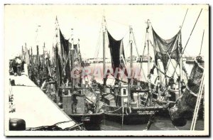 Old Postcard Ostend Boat Dock Montgomery