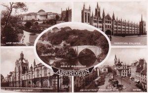 RP; ARBERDEEN, Arbendeenshire, Scotland, 1920-1940s; War Memorial, King's Col...