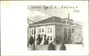 Salmon ID Court House Real Photo Postcard rpx