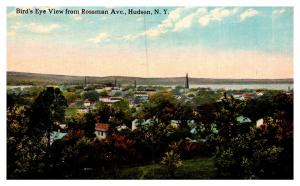 New York  Hudson , Aerial View from Rossman Avenue