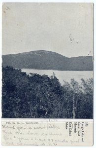East Orland, Maine, Craig's Lake and Great Pond Mountain