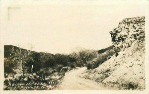 Ruidoso New Mexico Bit of the Road #880 RPPC Photo 1920s Postcard 21-5401