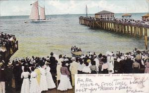 New Jersey Asbury Park Fishing Pier And Yacht Landing 1907