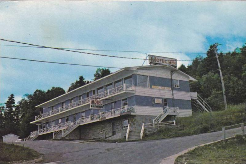 Hotel-Motel Auberge-Sur-Mer, St. Simeon, Cte. Charlevoix, Quebec, Canada, 40-...