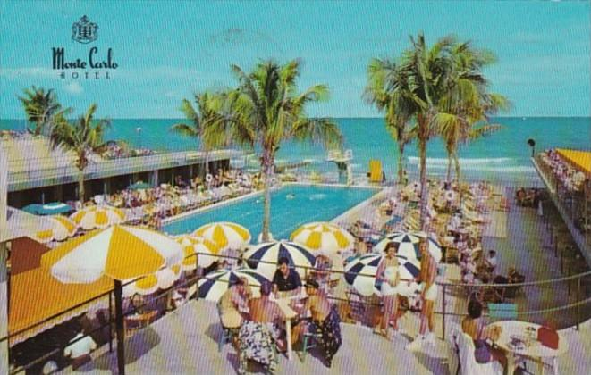 Florida Miami Beach The Monte Carlo Hotel 1966