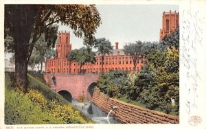 The Water Shops U.S. Armory in Springfield, Massachusetts