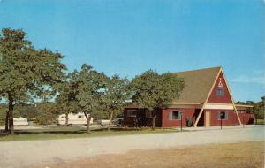 Oklahoma City OK~Old West KOA Campground~Travel Trailers~1960s Postcard