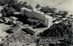 Edgewater Gulf Hotel - Real Photo Edgewater Park MS Unused