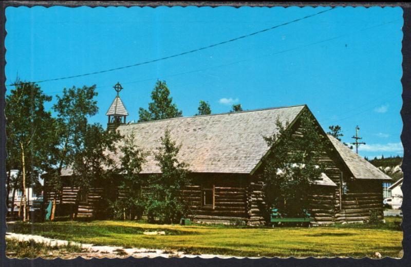 The Old Log Church,Whitehorse,Yukon,Canada